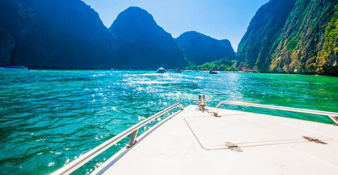 phi phi island tour from koh yao